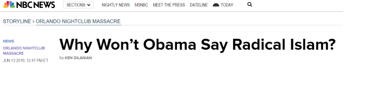 Obama islamic extremism